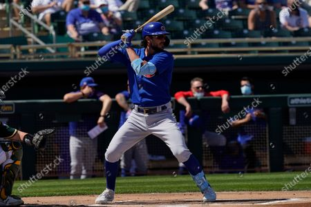 Editorial image of Cubs Athletics Baseball, Mesa, United States - 19 Mar 2021