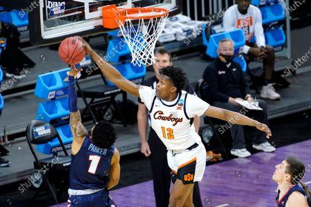 Editorial photo of NCAA Liberty Oklahoma St Basketball, Indianapolis, United States - 19 Mar 2021