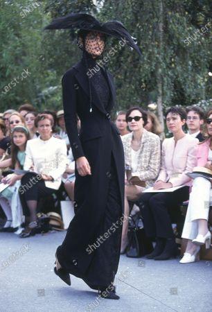 Editorial photo of Christian Dior Fall/Winter 1997-1998 Haute Couture - Jul 1997