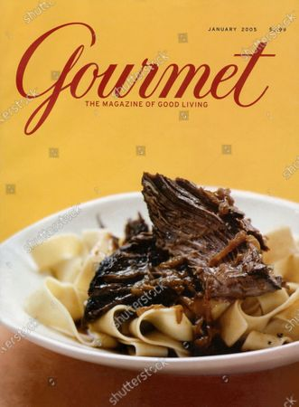 Editorial picture of Gourmet January 01, 2005 Cover