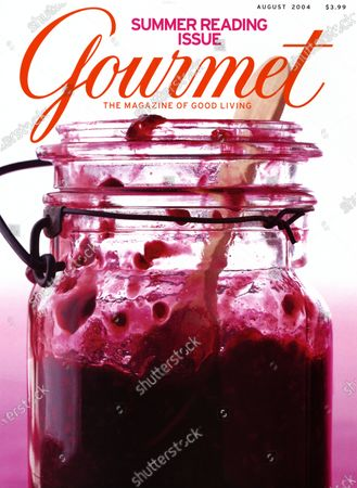 Editorial photo of Gourmet August 01, 2004 Cover