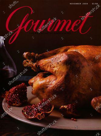 Editorial image of Gourmet November 01, 2004 Cover
