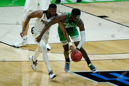 Editorial picture of NCAA North Texas Purdue Basketball, Indianapolis, United States - 19 Mar 2021