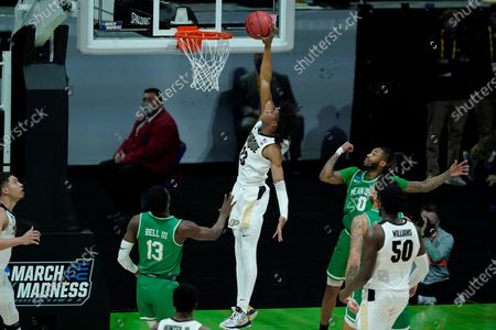 Editorial image of NCAA North Texas Purdue Basketball, Indianapolis, United States - 19 Mar 2021