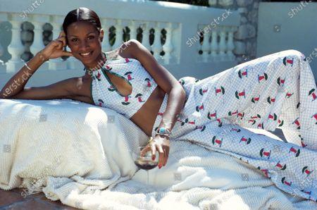 Editorial picture of Glamour May 01, 1973 Fashion, Habitation Leclerc, Haiti