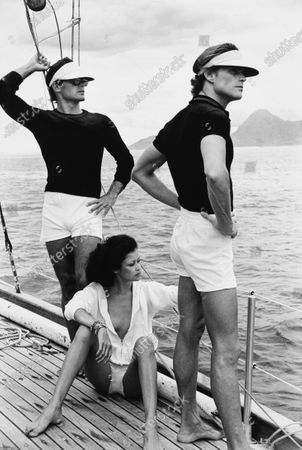 Editorial image of GQ Summer 1975 Fashion Feature, French Polynesia