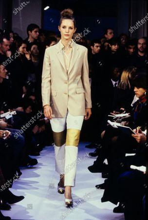 Editorial photo of Helmut Lang Fall 1995 RTW, Paris, France - Mar 1995