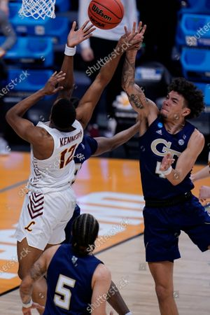 Editorial image of NCAA Georgia Tech Loyola Chicago Basketball, Indianapolis, United States - 19 Mar 2021