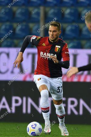 "Marko Pjaca (Genoa)           during the Italian ""Serie A"" match between Parma 1-2 Genoa at  Ennio Tardini Stadium in Parma, Italy."
