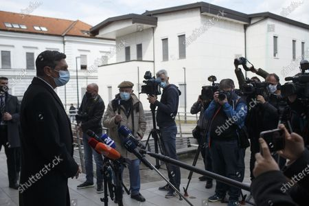 Editorial picture of Slovenia Ljubljana Covid 19 Vaccination - 19 Mar 2021