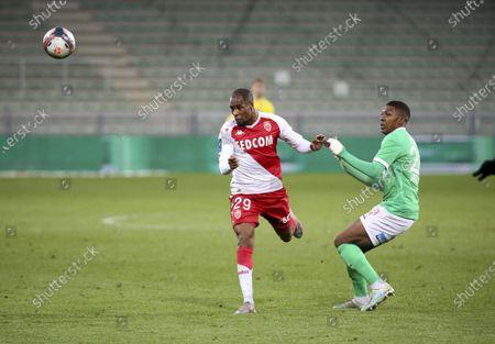 Djibril Sidibe of Monaco, Zaydou Youssouf of Saint-Etienne
