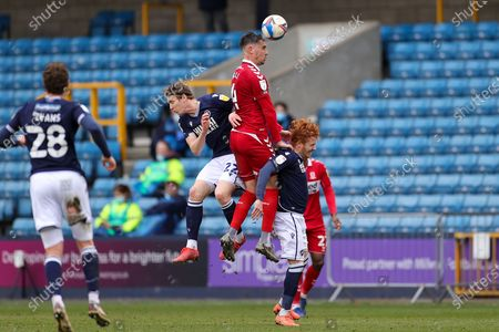 Editorial picture of Millwall v Middlesbrough, EFL Sky Bet Championship - 20 Mar 2021