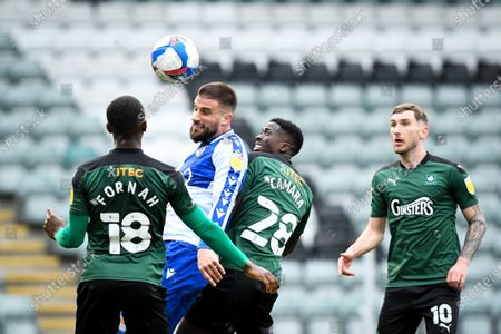Editorial image of Plymouth Argyle v Bristol Rovers, UK - 20 Mar 2021
