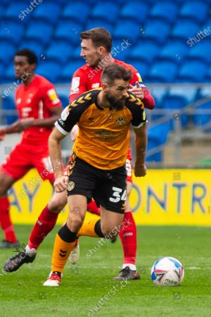 Editorial picture of Newport County v Leyton Orient - Sky Bet League 2 - 20 Mar 2021