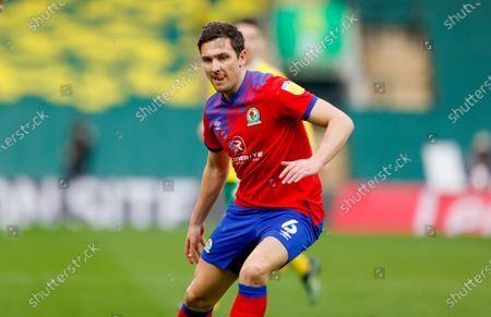 Blackburn Rovers midfielder Stewart Downing (6)  during the EFL Sky Bet Championship match between Norwich City and Blackburn Rovers at Carrow Road, Norwich