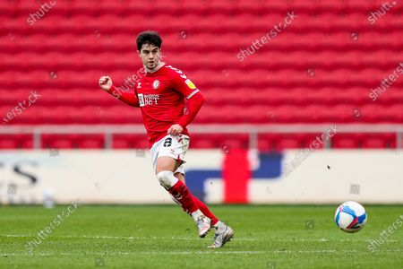 Stock Image of Liam Walsh of Bristol City