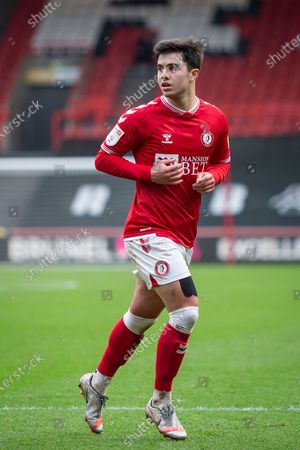 Stock Picture of Bristol City's Liam Walsh (8) in action during the EFL Sky Bet Championship match between Bristol City and Rotherham United at Ashton Gate, Bristol