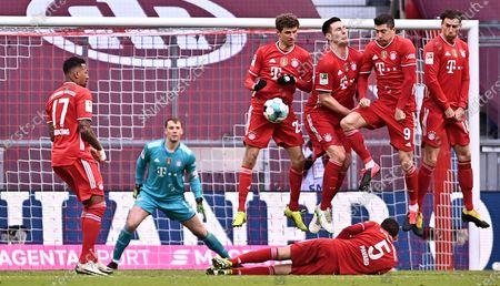 Editorial image of FC Bayern Munich vs VfB Stuttgart, Germany - 20 Mar 2021