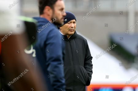 Ireland vs England. England Head Coach Eddie Jones