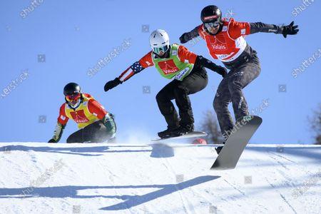 Editorial photo of FIS Snowboard Cross World Cup Finals, Veysonnaz, Switzerland - 20 Mar 2021