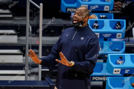Editorial photo of NCAA Georgetown Colorado Basketball, Indianapolis, United States - 20 Mar 2021