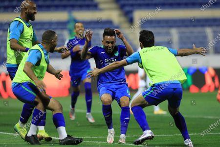 Editorial photo of Al-Fateh vs Al-Ahli, Al Hasa, Saudi Arabia - 20 Mar 2021