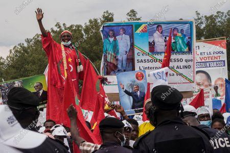 Editorial picture of Election, Brazzaville, Republic of Congo - 19 Mar 2021