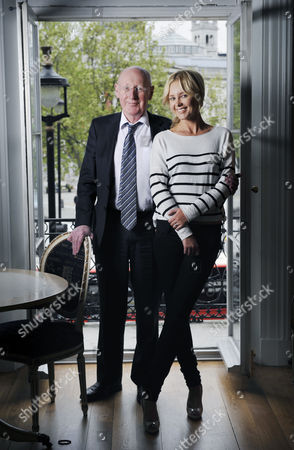 Stock Picture of Sir Clive and Angie Sinclair