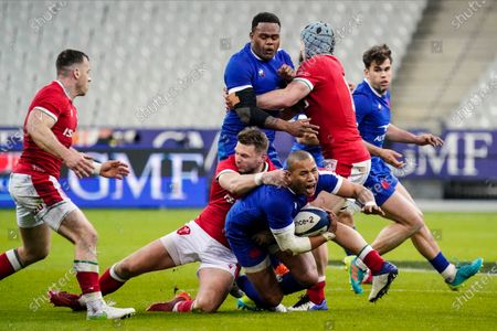 Editorial image of 2021 Guinness Six Nations Championship Round 5, Stade de France, Paris, France - 20 Mar 2021