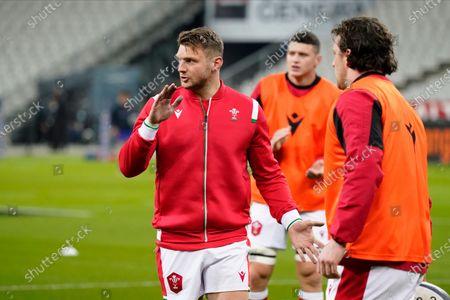 France vs Wales. Wales' Dan Biggar