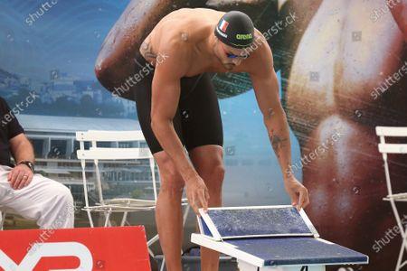 Florent Manaudou of CN Marseille Final A 50m butterfly Men