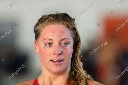 Kira Toussaint from Netherlands Final A 50 m backstroke Women