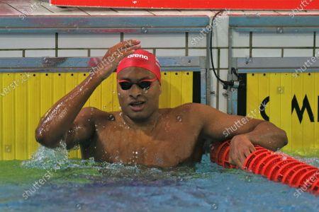 Yohann Ndoye Brouard of Dauphins d'Annecy, Final A 200 m backstroke Men