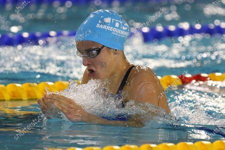 Camille Dauba of CN Sarreguemines Final A 200 m breaststroke Women
