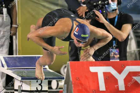 Editorial photo of FFN Golden Tour, Camille Muffat, Olympic and European swimming selections, Marseille, France - 20 Mar 2021