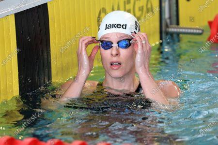 Stock Photo of Federica Pellegrini from Italy, Series 100 m freestyle Women