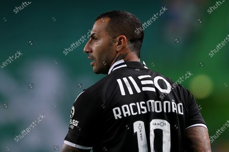 Ricardo Quaresma of Vitoria SC looks on during the Portuguese League football match between Sporting CP and Vitoria SC at Jose Alvalade stadium in Lisbon, Portugal on March 20, 2021.
