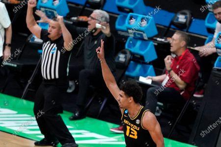 Editorial image of NCAA Missouri Oklahoma Basketball, Indianapolis, United States - 20 Mar 2021