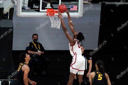 Editorial picture of NCAA Missouri Oklahoma Basketball, Indianapolis, United States - 20 Mar 2021