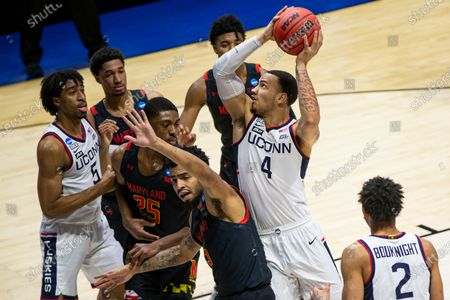 Editorial photo of NCAA Maryland UConn Basketball, West Lafayette, United States - 20 Mar 2021