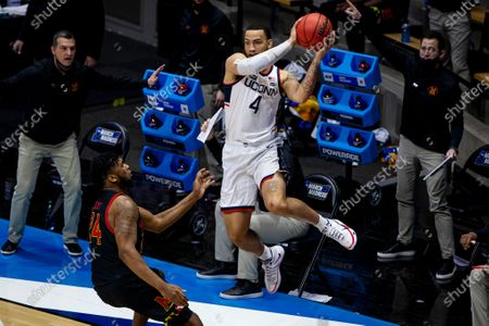 Editorial picture of NCAA Maryland UConn Basketball, West Lafayette, United States - 20 Mar 2021