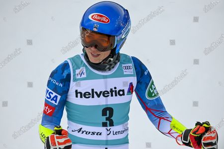Editorial photo of Alpine Skiing World Cup Finals, Lenzerheide, Switzerland - 21 Mar 2021