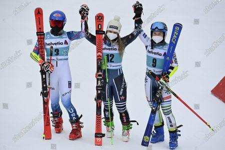 Editorial picture of Alpine Skiing World Cup Finals, Lenzerheide, Switzerland - 21 Mar 2021