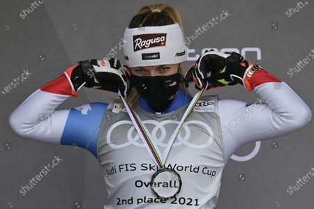 Editorial image of Alpine Skiing World Cup Finals, Lenzerheide, Switzerland - 21 Mar 2021