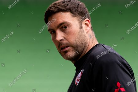 Matt Banahan of Gloucester looks on during the Gallagher Premiership match between Harlequins and Gloucester Rugby at Twickenham Stoop, London on Saturday 20th March 2021.