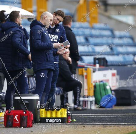 Editorial image of Millwall v Middlesbrough - Sky Bet Championship, London, United Kingdom - 20 Mar 2021