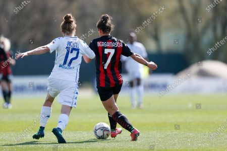 Editorial picture of AC Milan v Empoli Ladies, Serie A Women, Football, Centro Sportivo Peppino Vismara, Milan, Italy - 21 Mar 2021
