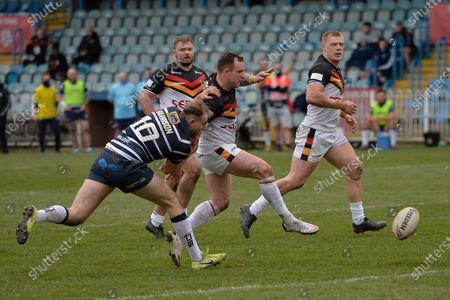 Editorial picture of Featherstone Rovers vs Bradford Bulls - 21 Mar 2021