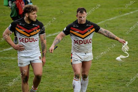 Editorial photo of Featherstone Rovers vs Bradford Bulls - 21 Mar 2021