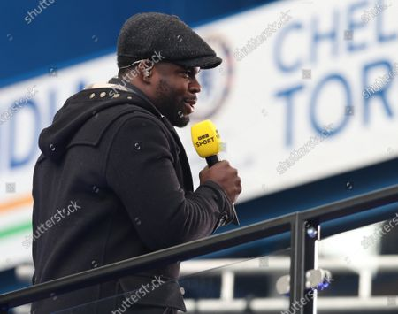 Micah Richards the ex-footballer now Media Pundit at the game